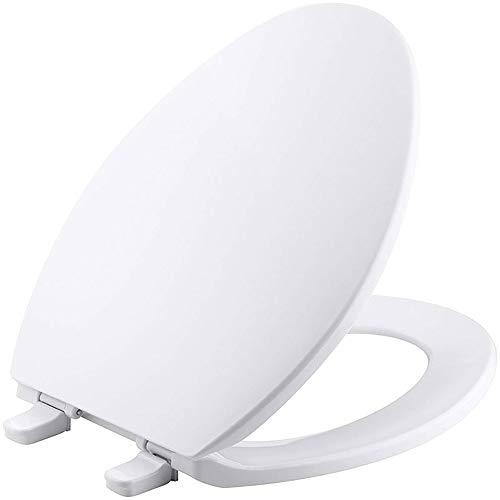 Arayacy coperchio del wc chiuso a forma di v con chiusura rapida a v di lusso bianco, coperchio del water di alta qualità, bagno, casa
