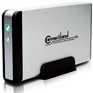 Connectland - Boitier combo USB2/eSATA pour disque dur SATA 3.5 ( 316SSC)