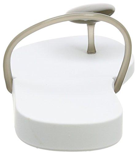 Ipanema Philippe Starck Thing U Fem Damen Zehentrenner Weiß (white/smoke 8474)