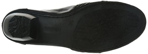 Rieker 41730 Damen Slipper Schwarz (schwarz/schwarz / 00)