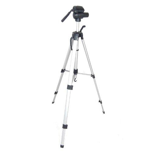 DynaSun WT360 Cavalletto Treppiede Stativo Professionale, Versione 171 cm XXL, Testa 3D Integrata,