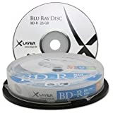 20 (2x 10) XLayer Bluray Rohlinge BD-R 25GB 1-4x Cakebox