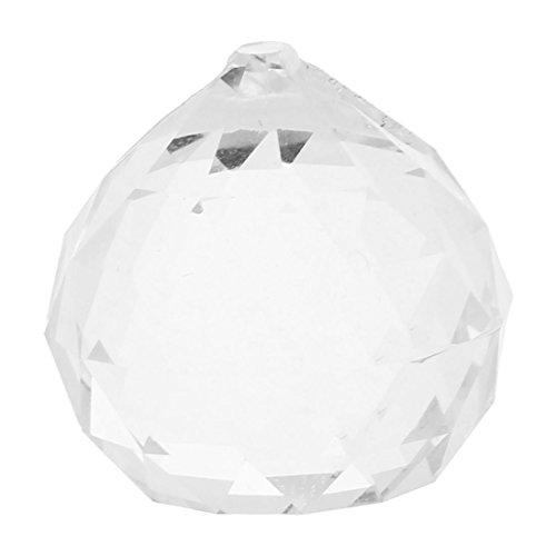 REFURBISHHOUSE R 20mm Kristall Beleuchtung Vorhang Ball - Klar - Kristall Klar Beleuchtung