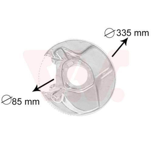 Van Wezel 3010374 Cache anti-poussière