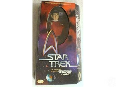 Star Trek II The Wrath of Khan Captain Spock 12in Action Figure by Star Trek