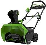Greenworks Tools 40V Akku spazzaneve + 6Ah accumulatore + caricabatteria (2600007VD)