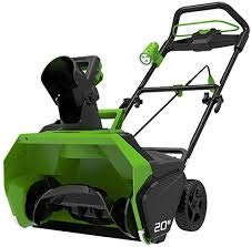 Greenworks Tools 40V Akku Schneefräse + 6Ah Akku + Ladegerät (2600007VD)