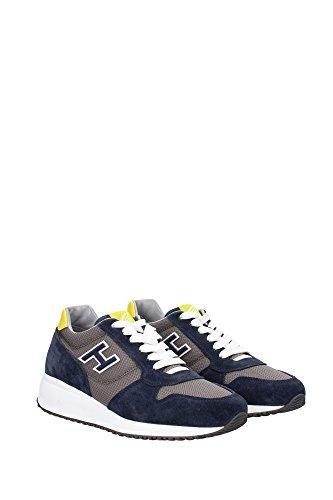 HXM2460Q260BZM343Q Hogan Sneakers Homme Chamois Bleu Bleu