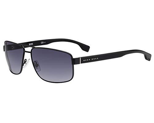 BOSS Hugo Sonnenbrillen (BOSS-1035-S 0039O) schwarz matt - schwarz glänzend - grau verlaufend