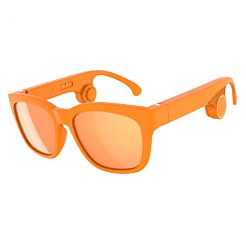 JYL G2 Knochenleitung Kopfhörer Polarisierte Brille Sonnenbrille Bluetooth 5.0 Headset Stereo Musik Kopfhörer Drahtloser Kopfhörer Schwarz (G2),A