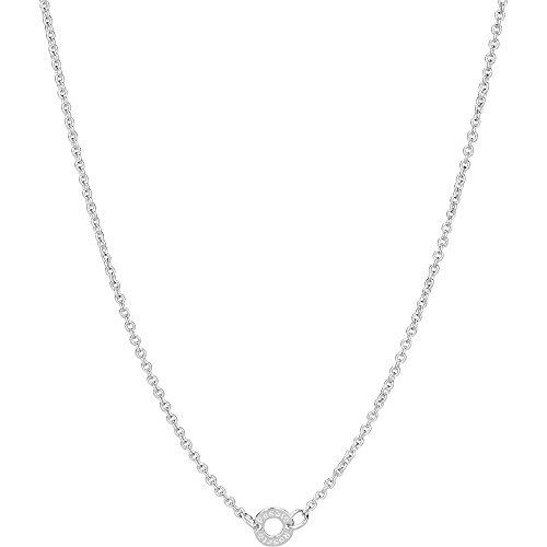 Collana argento - rosato - rcl06 (450mm.)