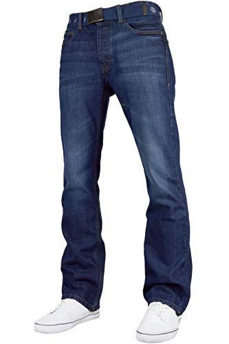 Smith and Jones Jeans Jeans Boot Cut Uomo Darkwash W30 / L30
