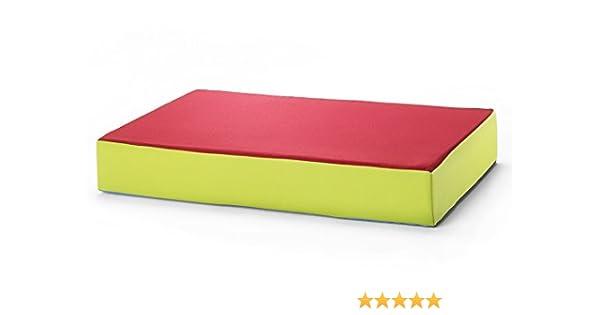 trampoline matelas pour les enfants 130 x 90 x 25 cm