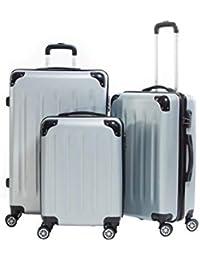 """Lot de 3 valises 20098/3"""" Valigo Paris ABS"""