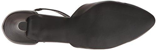 Pleaser Divine-415w Damen Plateau Blk Faux Leather