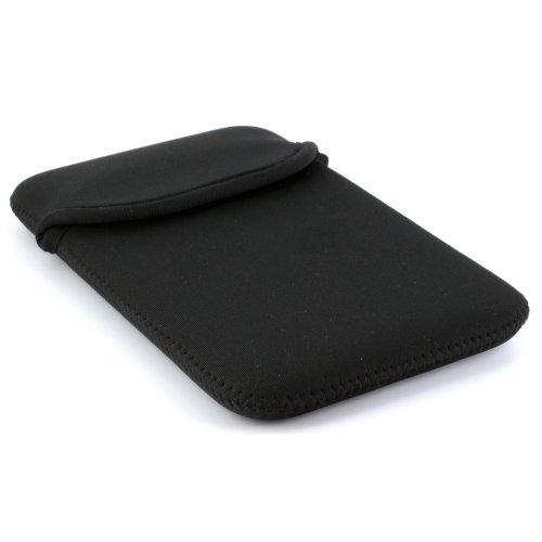 Tasche aus Neopren für Tablet PC Größe 7 Zoll (17,78cm) max. Geräteabmessungen von 202 x 125 mm -- Hülle in schwarz (Htc Evo Fällen)
