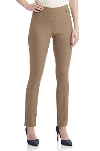 80acb4c267 Rekucci Pantalon Siempre Comodo de Mujer Stretch Slim (12