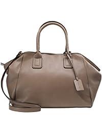 9e506a2020e Anna Field Henkeltasche für Damen in edlem Leder Look - Handtasche mit  Tragehenkel - Tasche mit abnehmbarem Schulterriemen - Tote Bag ca.