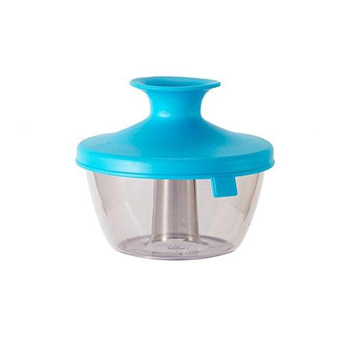 XMDZ Luftdichte Behälter für Trockenfrüchte Snacks mit Deckel Halten Frisch und Trocken Klein Vakuum Container aus Kunststoff - Blau