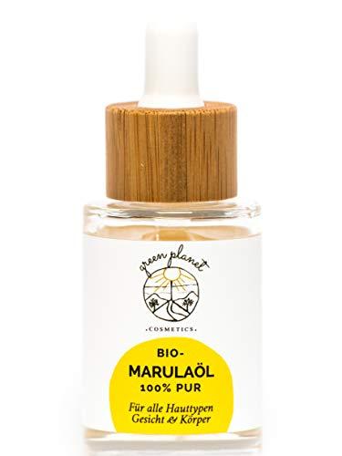 green planet cosmetics Bio Marulaöl-Naturkosmetik-Gesichtsöl-Körperöl-100{ef4f36405c834de349e2cd967f53ba11ce83229b2d3ae683b632d3d075d77bf3} rein- Vegan-30ml