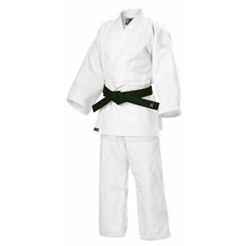 Judogi mizuno hayato intermediate bianco 160 cm
