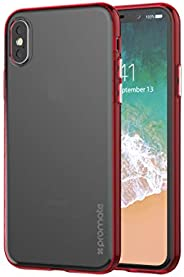 Promate Iphone X Cover, Transparent Ultra- Slim Hard- Shell Shock Resistance Thin Bumper Case With Drop Protec