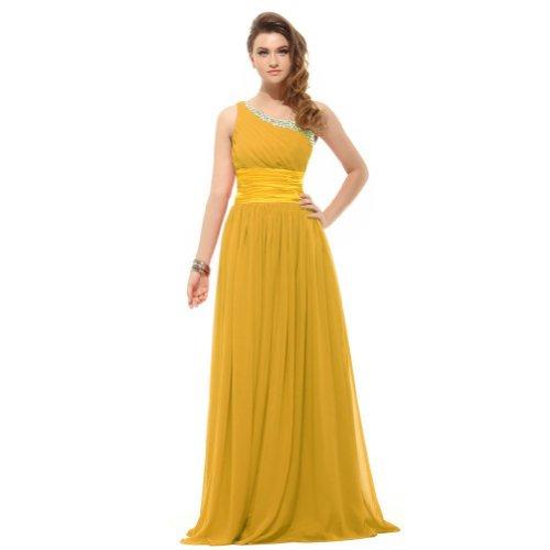 Lemandy - Robe -  Femme Multicolore Bigarré Multicolore - Jaune