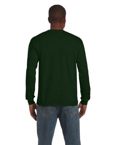 Gildan Langarm T-Shirt Ultra 2400 Forest Green
