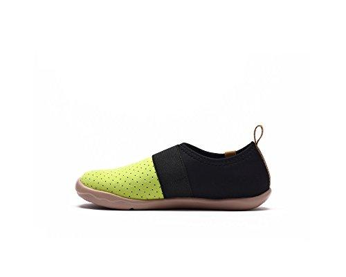 UIN chaussure de slip-on de voyage de Bejer Microfibre des enfants (enfant grand) Jaune