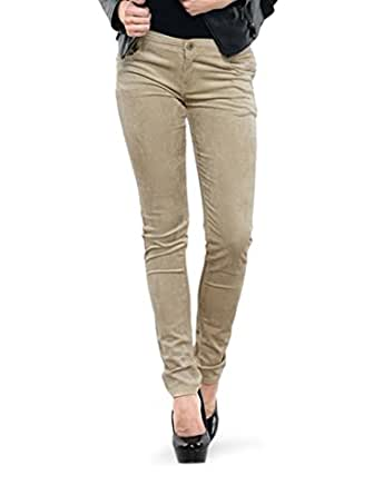 Dashy Club Trendy Beige Cotrise Pants for Women - ( Size: 30 )