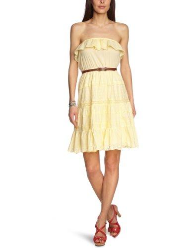 Pepe Jeans Damen Kleid (knielang) PL951117 MAJE, Gr. 36 (M), Gelb (SORBET LEMON)