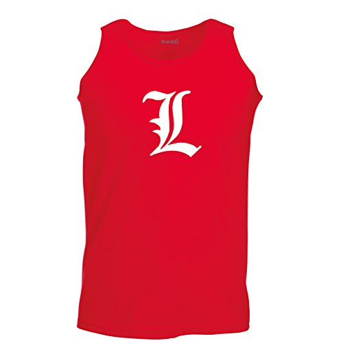 Brand88 - Death Note L, Manga, Detective, L Change the World Inspired, Unisex Athletic Weste Rot
