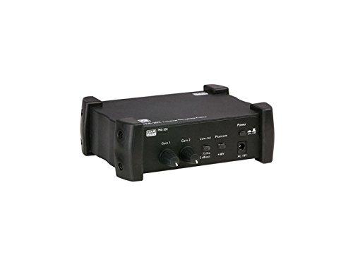 DAP-Audio PRE-202 Mikrofon-Vorverstärker 2 Kanal
