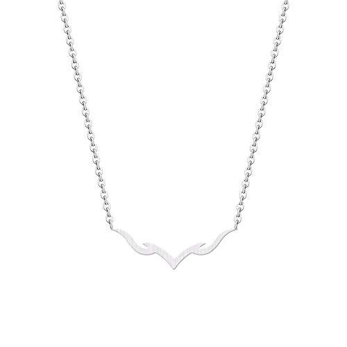 JMZDAW Halskette Anhänger Women's Christmas Ornaments Geschenke Einfach Origami Elegantes Tier Halsketten Einzigartige Party, EIN -