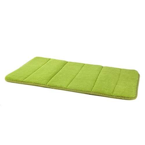 fghfhfgjdfj Badematte Schlafzimmer Home Praktische rutschfeste Matten Memory Foam Teppich Dusche Teppich Pad Für Badezimmer Küche - Gras-teppich Badezimmer