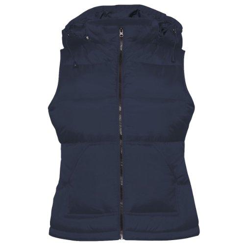 B&C Collection - Manteau sans manche -  Femme Bleu - Bleu marine