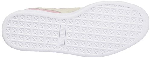 Puma Suede Jr, Baskets Basses Fille Pink (pink lady-white-team gold 30)