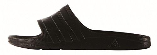 adidas Unisex-Erwachsene Duramo Slide Zehentrenner, Nero (Cblack/Cblack/Cblack), 54.5 EU