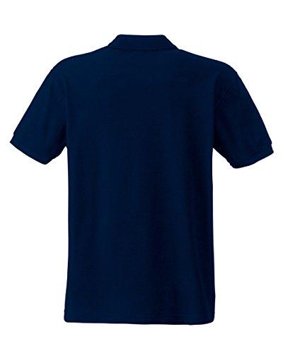 Fruit of the LoomHerren Poloshirt Blau - Deep Navy