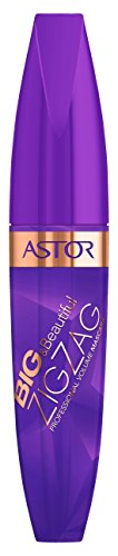 ASTOR Big und Beautiful Zig Zag Professional Volume Mascara, 800 schwarz, 1er Pack (1 x 12 ml)