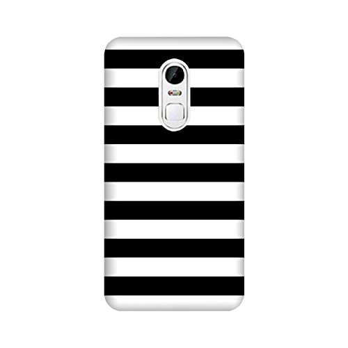 theStyleO Quality Printed Back Cover for Lenovo Vibe X3 [Black White Pattern]