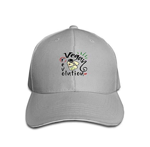 The Kostüm Popeye Sailor - Unisex Flat Bill Hip Hop Cap Baseball Hat Head-Wear Cotton Trucker Hats go vegan Revolution Sailor Popeye Food Healthy Diet Print