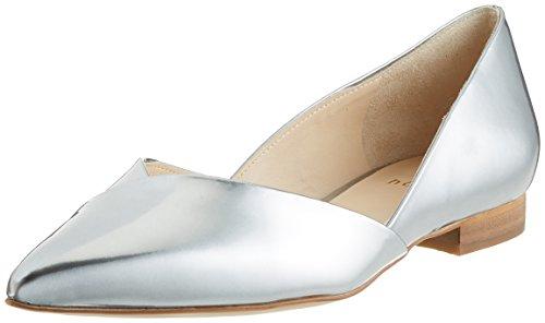 HÖGL Damen 3-10 2014 7600 Geschlossene Ballerinas, Silber (silber7600), 37.5 EU