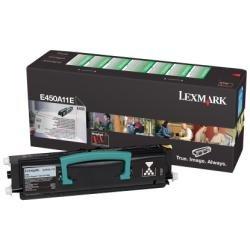 Preisvergleich Produktbild Lexmark E450A11E E450 Tonerkartusche 6.000 Seiten Rückgabe, schwarz