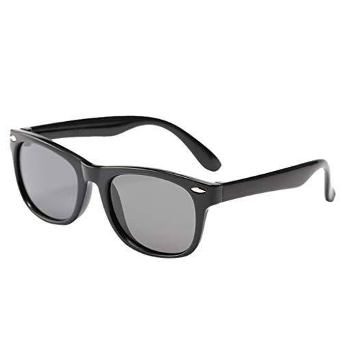 Lomsarsh Kleinkind Baby Kinder Jungen Mädchen Anti-Uv Flexible Stretchy Polarisierte Sonnenbrille Kinder Silikon Anti-Strahlung Polarisierte Sonnenbrille Brille