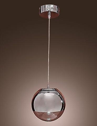 SWENT Simple moderne/retro/LED lights pendentif Pendentif 60 W Max Light , moderne/Contemporain / Globe pour chrome métal Style Mini Salle à manger/cuisine équipée,220-240V