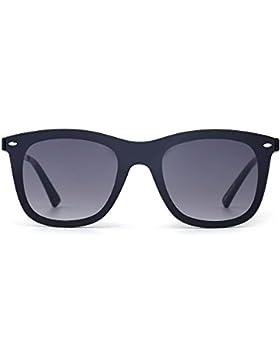 Gafas de Sol Wayfarer de Espejo Sin Marco Una Pieza Sin Montura Anteojos Hombre Mujer