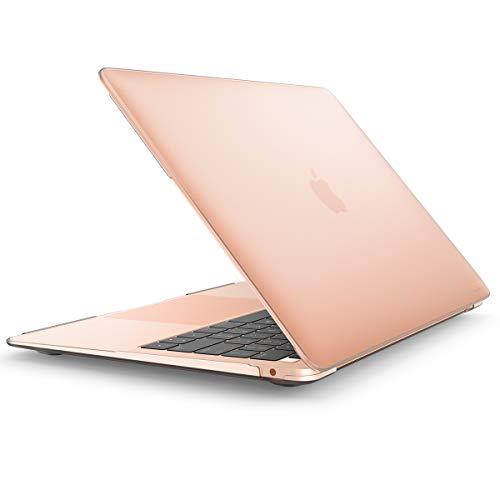 """i-Blason MacBook Air 13 Hülle 2018 Ausgabe A1932 [Halo] Glatt Case Mattierte Schutzhülle Hartschale Cover für MacBook Air 13\"""" 2018 mit Retina Display passt Touch ID (Transparent)"""