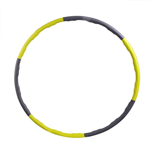 Ancheer Abnehmbarer Hula Hoop mit Schaumstoff, Reifen Hula Hoop,1.5 und 1.8kg,Durchmesser:90cm
