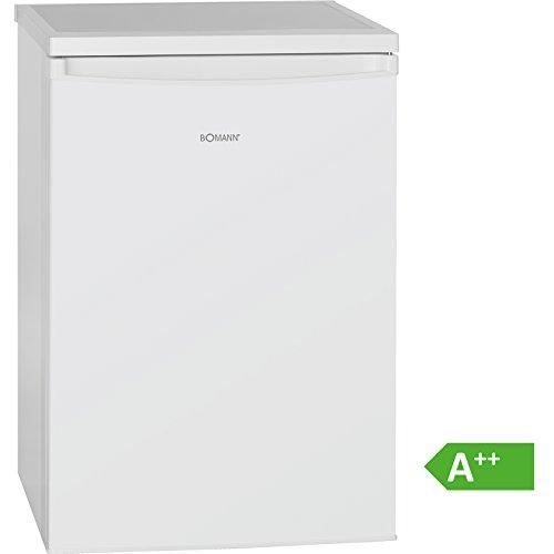 Bomann KS 2184 Kühlschrank/A++/84.5 cm/141 kWh/Jahr/105 L Kühlteil/14 L Gefrierteil/LED Innenraumbeleuchtung/weiß